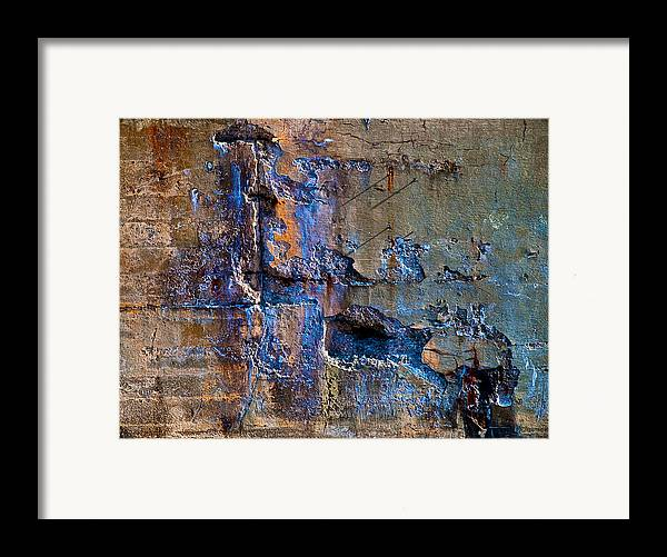 Industrial Framed Print featuring the photograph Foundation Seven by Bob Orsillo