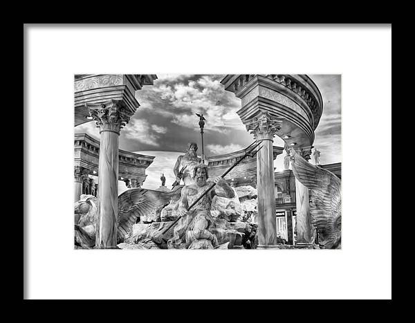 Nature Framed Print featuring the photograph Fountain Of The Gods by Howard Salmon