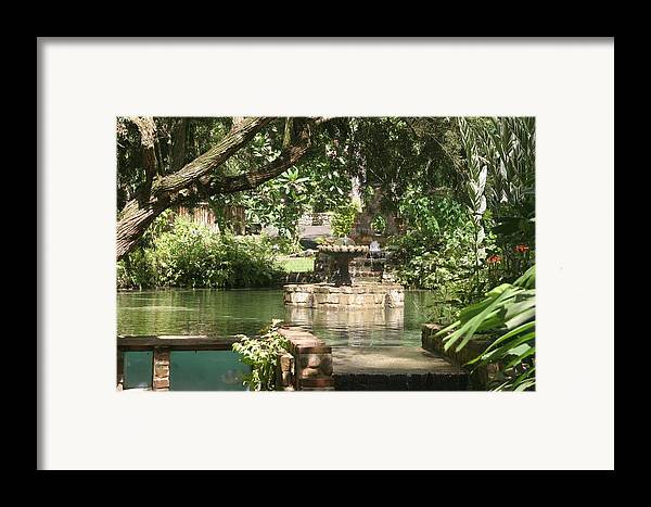 Fountain Framed Print featuring the photograph Fountain Of Youth by Dervent Wiltshire