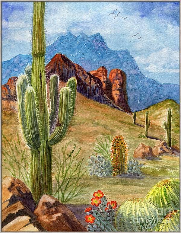 Four Peaks Vista by Marilyn Smith