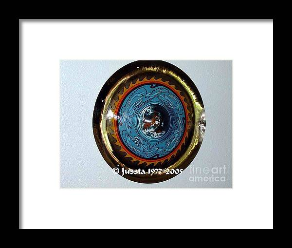 Earth Framed Print featuring the photograph Freddie White Cymbal Earth Wind Fire Spirit Tour by Jussta Jussta