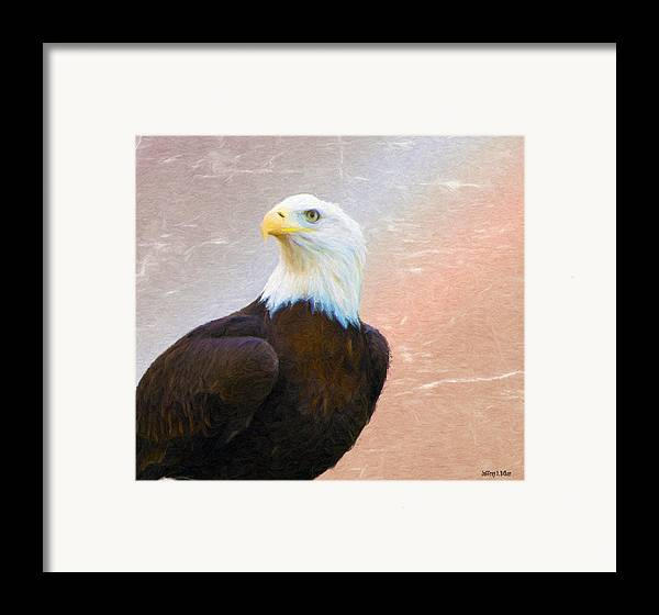 4th Framed Print featuring the painting Freedom Flyer by Jeff Kolker