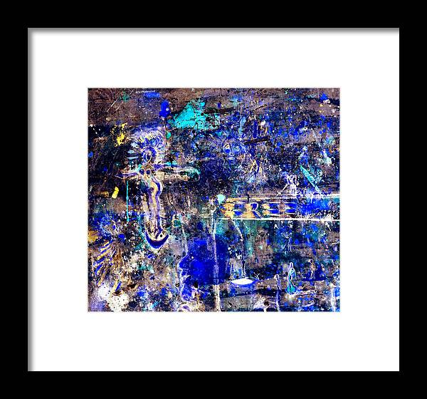 Angel Framed Print featuring the mixed media Freedom by Giorgio Tuscani