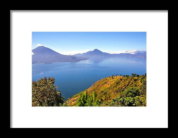 Lake Framed Print featuring the photograph Fresh Air by Catherine Renzini
