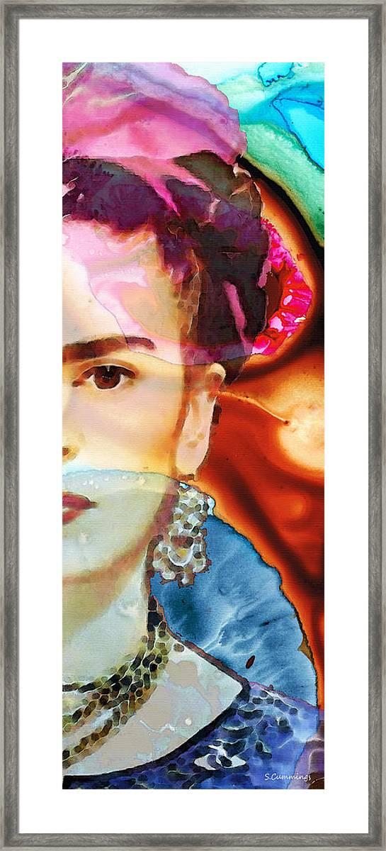 Cute for gift Watercolor Frida Kahlo Art Blankets Custom Blanket