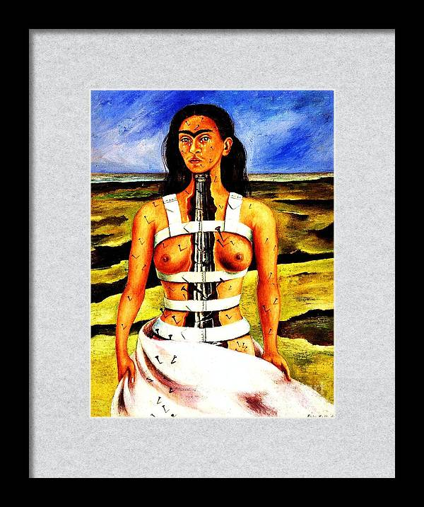 Frida Kahlo The Broken Column by Pg Reproductions