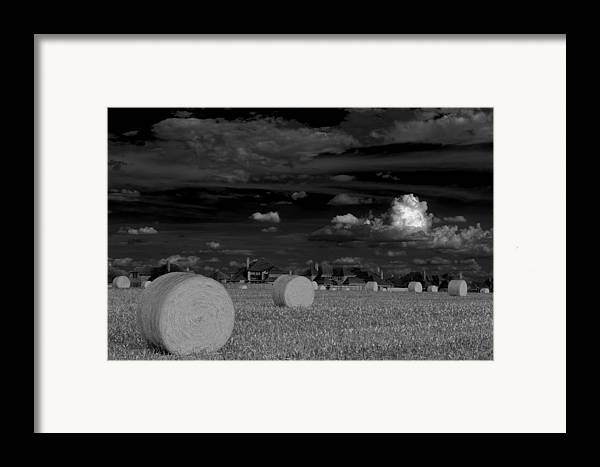Hay Bales Framed Print featuring the photograph Frisco Dream by Darryl Dalton
