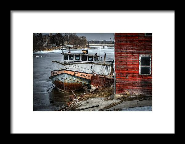 Art Swaer Vi Framed Print featuring the photograph Frozen In Time by Bill Pohlmann