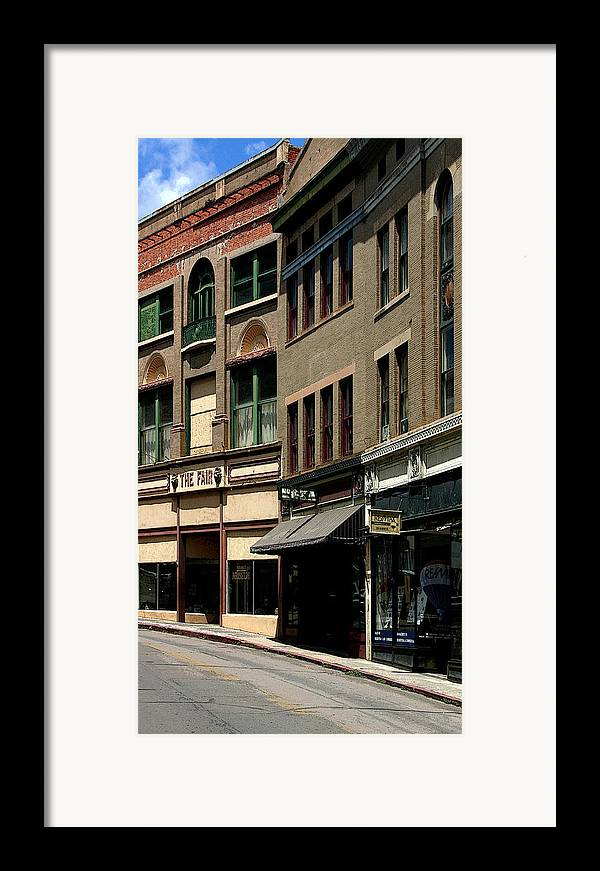Stores Framed Print featuring the photograph Frozen In Time by Joe Kozlowski