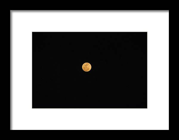 Framed Print featuring the photograph Full Moon by Eric Armstrong