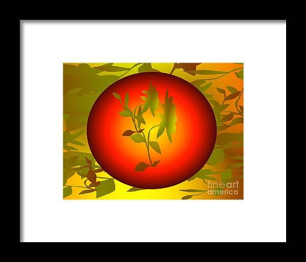 Digital Art Graphics Fun In The Sun Framed Print featuring the digital art Fun In The Sun by Gayle Price Thomas