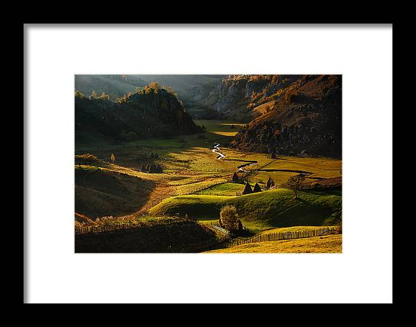 Landscape Framed Print featuring the photograph Fundatura Ponorului by Cristian Lee