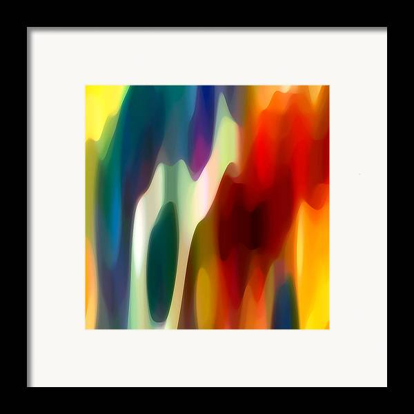Fury Framed Print featuring the painting Fury 1 by Amy Vangsgard