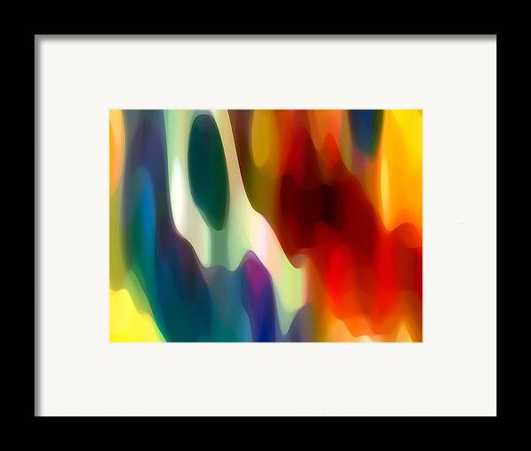 Fury Framed Print featuring the painting Fury 2 by Amy Vangsgard