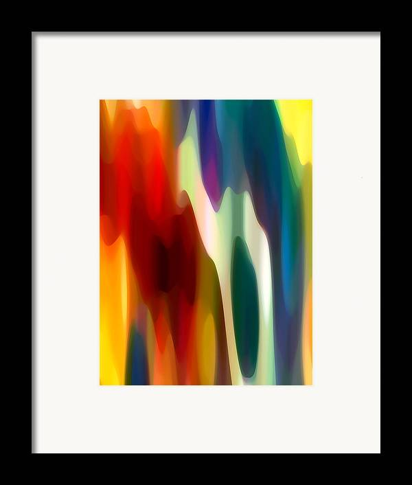 Bold Framed Print featuring the painting Fury 3 by Amy Vangsgard