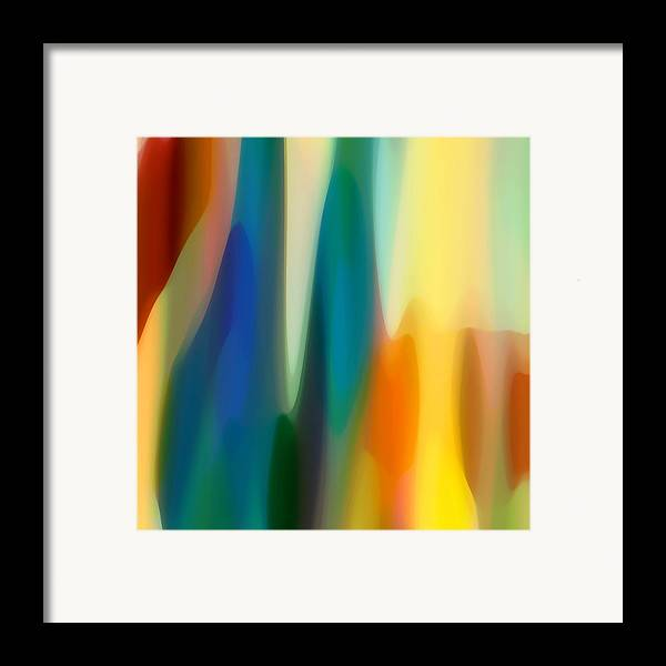 Bold Framed Print featuring the painting Fury 6 by Amy Vangsgard