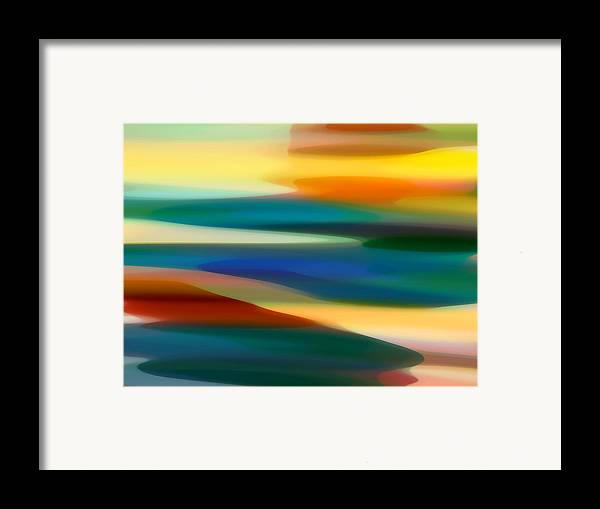 Fury Framed Print featuring the painting Fury Seascape 6 by Amy Vangsgard