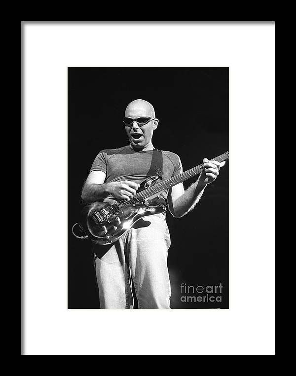 Guitarist Framed Print featuring the photograph G3 by Concert Photos