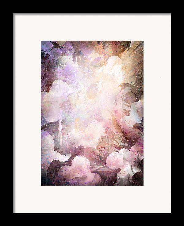 Gabriel Framed Print featuring the digital art Gabriel by Rachel Christine Nowicki
