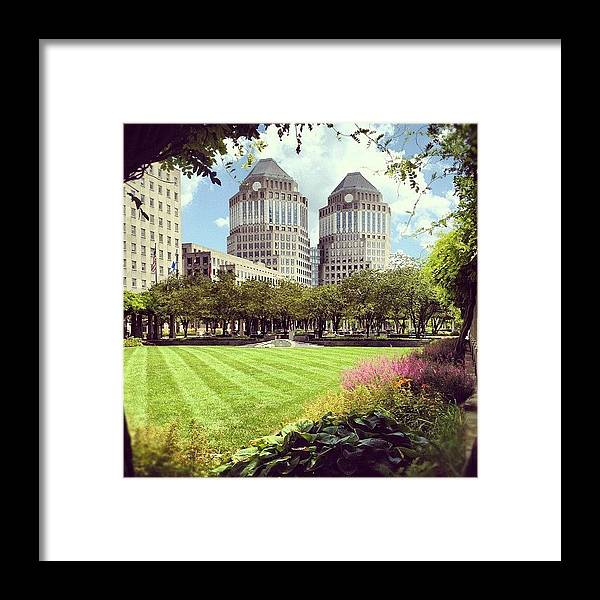 Garden Framed Print featuring the photograph Garden by Mike Maher