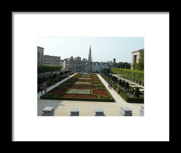 Garden Framed Print featuring the photograph Garden by Milan Matyas