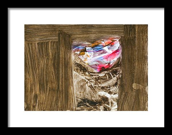 Framed Print featuring the painting Gate To The Five Lights by Kongtrul Jigme Namgyel