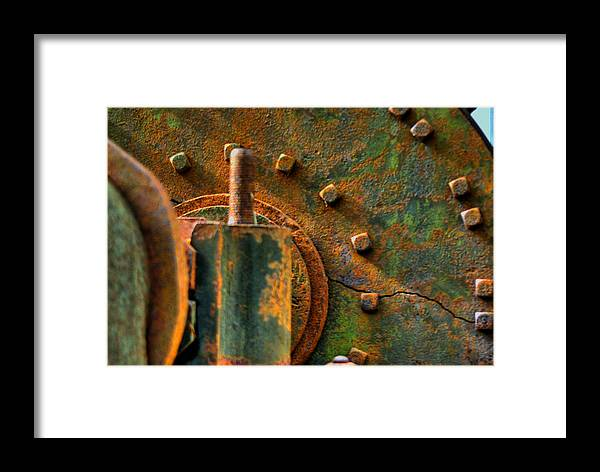 Accessory Framed Print featuring the photograph Gear by Perry Frantzman