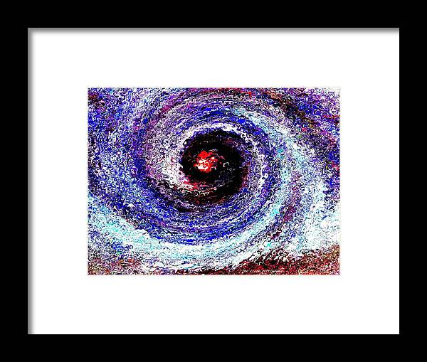 Creation Framed Print featuring the digital art Genesis by Dr Loifer Vladimir