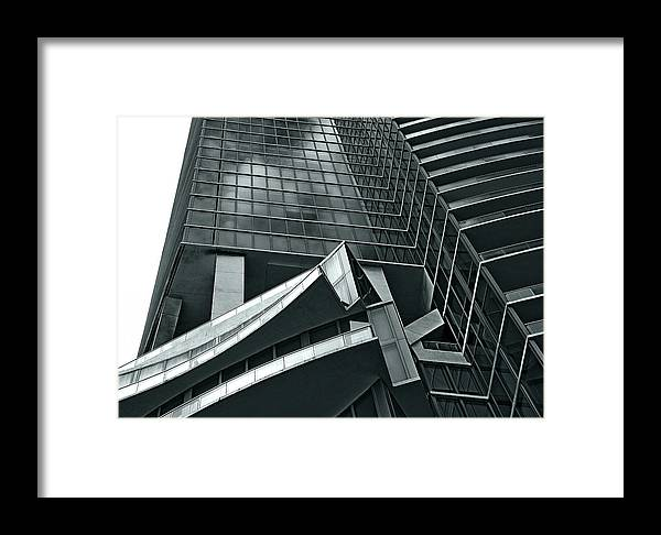 Building Framed Print featuring the photograph Geometric by Lorenzo Cassina