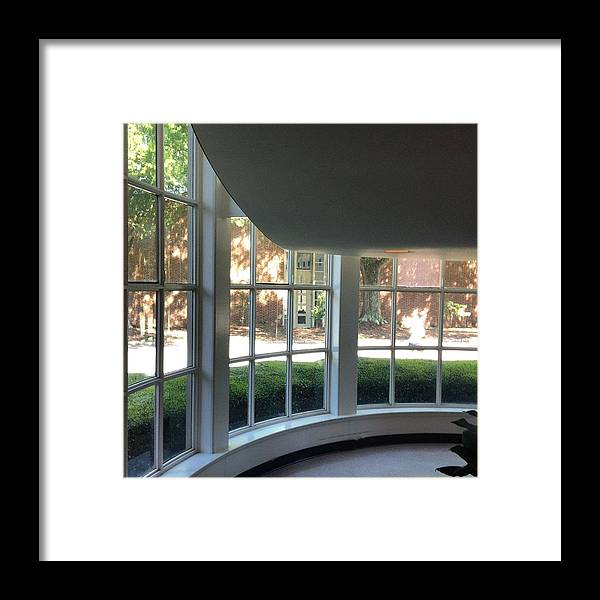 Interior Framed Print featuring the photograph Geometry by Elvina Zatorsky