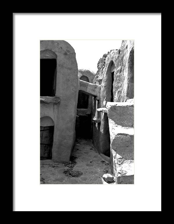Tunisia Framed Print featuring the photograph Ghorfas Two by James Bryant