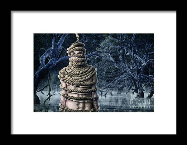 Rope Framed Print featuring the photograph Ghost Of Doom by Richard Mason