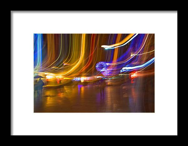 Ghost Framed Print featuring the photograph Ghosts Of The Lights by Alex Art and Photo