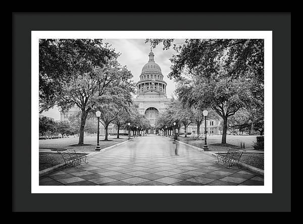 Ghosts of the Texas State Capitol - Austin Texas Skyline by Silvio Ligutti