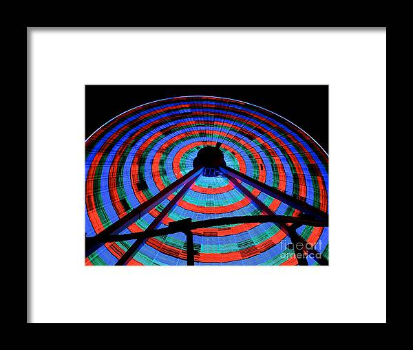 156 Foot Tall Framed Print featuring the photograph Giant Wheel by Mark Miller