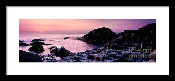 Giant's Causeway Framed Print featuring the photograph Giants Causeway 3 by Rod McLean