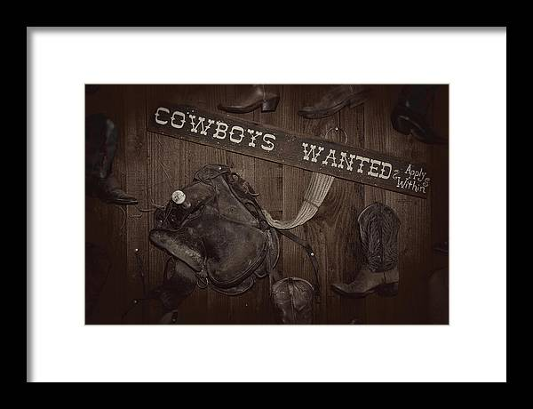 Horse Framed Print featuring the photograph Giddy Up by Tony Santo