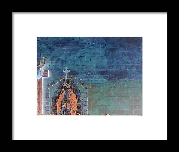 Desert Framed Print featuring the photograph Girl From Guadalupe by Louis Nugent