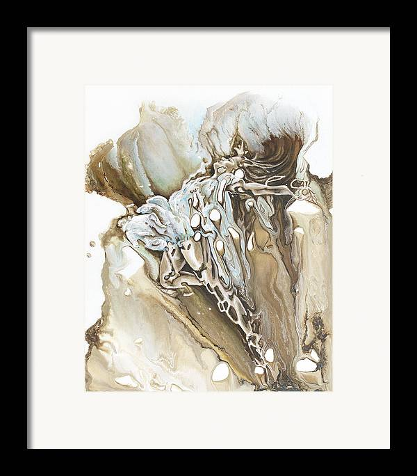 Give Framed Print featuring the painting Give by Karina Llergo
