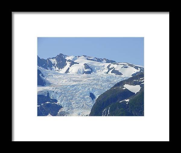 Alaska Framed Print featuring the photograph Glacier 12 by Lew Davis