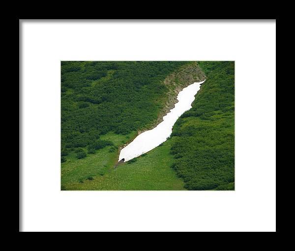 Alaska Framed Print featuring the photograph Glacier 13 by Lew Davis
