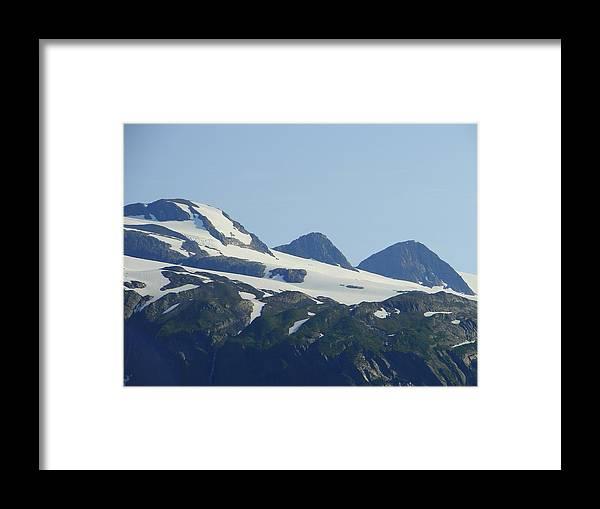 Alaska Framed Print featuring the photograph Glacier 17 by Lew Davis