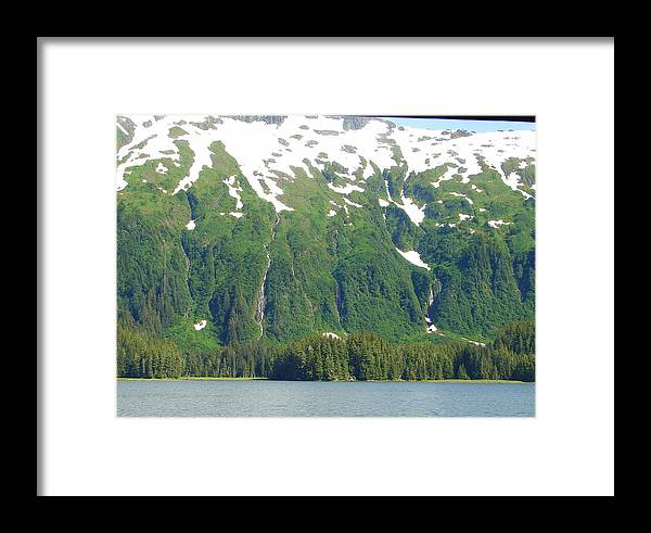 Alaska Framed Print featuring the photograph Glacier 7 by Lew Davis