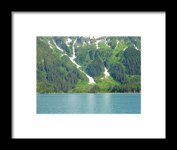 Alaska Framed Print featuring the photograph Glacier 9 by Lew Davis