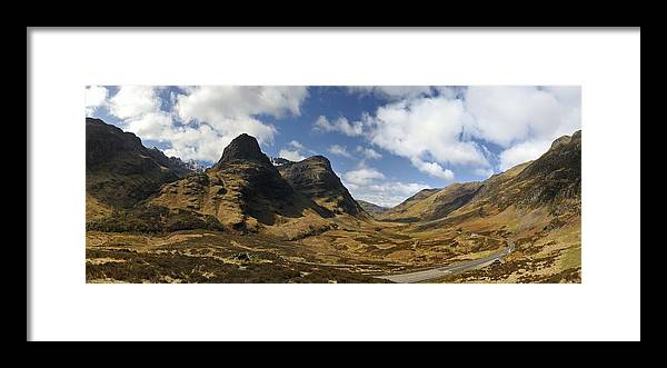 Three Sisters Of Glen Coe Framed Print featuring the photograph Glencoe by Alasdairjames