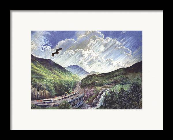 Steve Crisp Framed Print featuring the photograph Glencoe by Steve Crisp