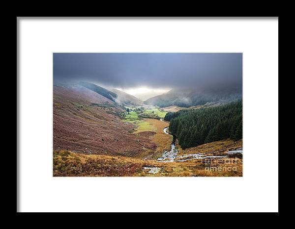 Glenmacnass Framed Print featuring the photograph Glenmacnass 1 by Michael David Murphy