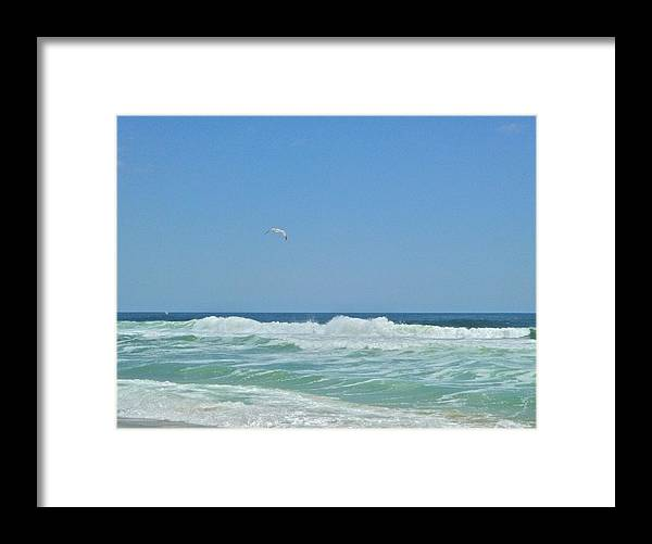 Ocean Framed Print featuring the photograph Glorious May 4 by Ellen Paull