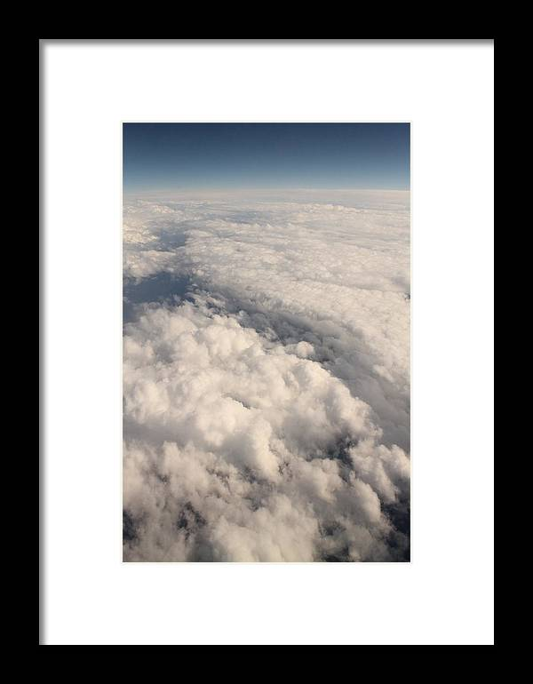 Sky Framed Print featuring the photograph Glow by Llyr Emyr Roberts