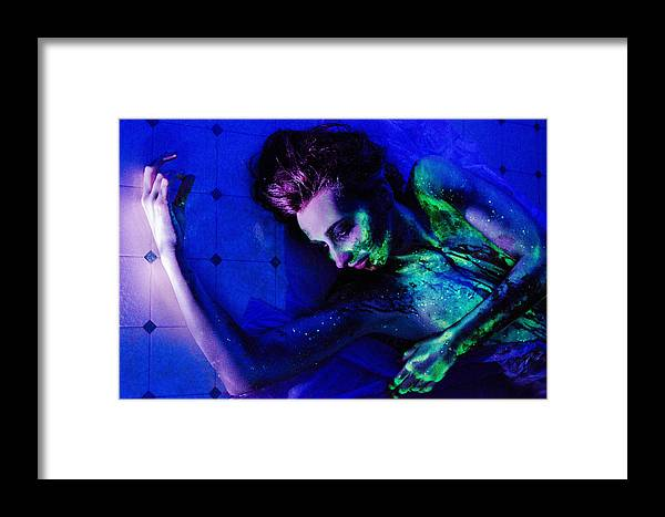 Girl Framed Print featuring the photograph Glow Vi by Andrew Stopper